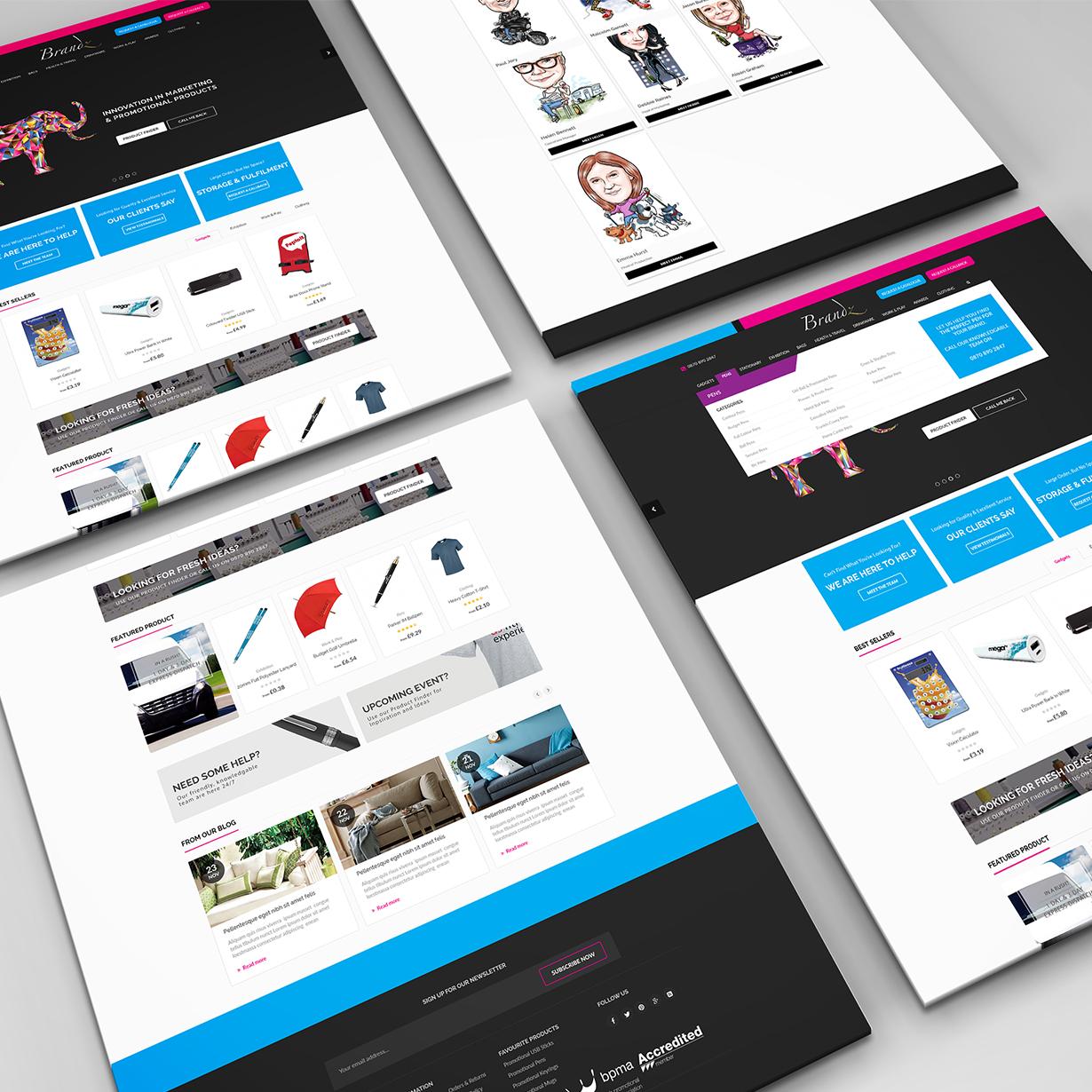 BRANDZ E-Commerce